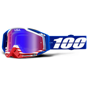100% Racecraft Anti Fog Mirror Gafas, anthem